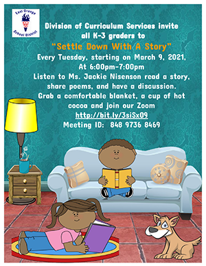 SEttle with a story flyer