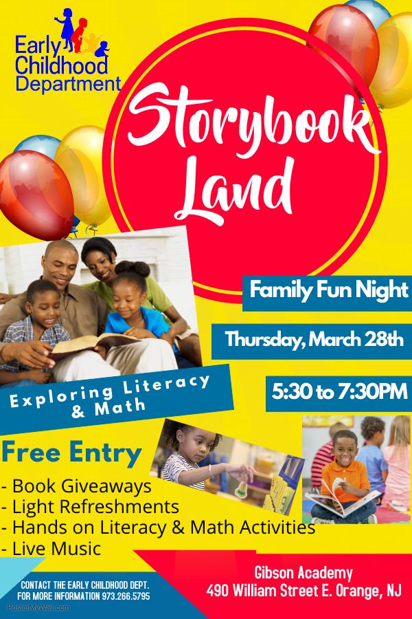 Storybook Land event flyer