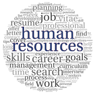 Human Resources buzzword circle