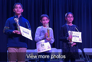 view more photos of the spelling bee