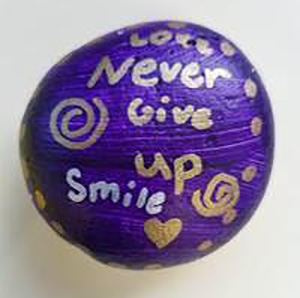 Love Never give up Smile