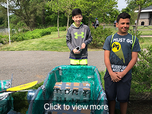 Click to view more photos from the Recycled Regatta event.