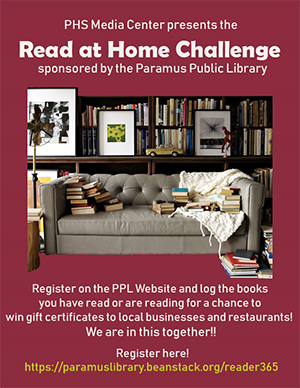 PHS Media Center presents the Read at Home Challenge