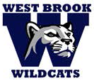 West Brook Middle School Wildcats mascot logo