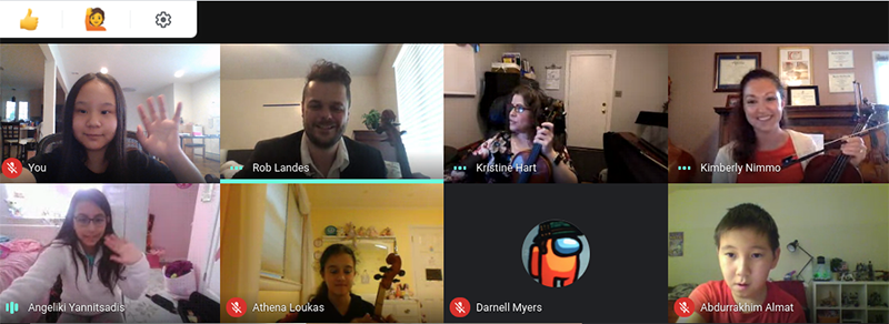 Zoom meeting screenshot with Rob Landes