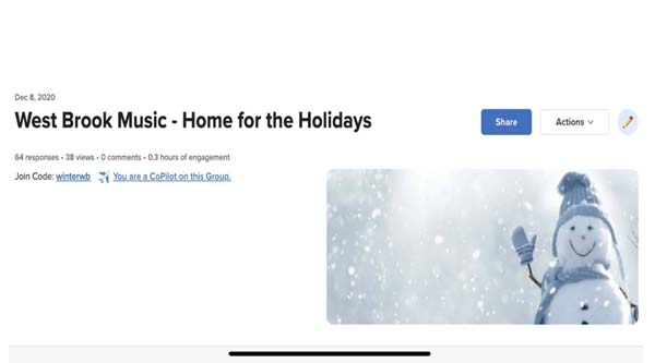 West Brook Music - Home for the Holidays screenshot