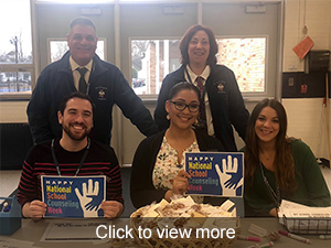 Click to view photos from West Brook's National School Counseling Week