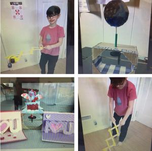 STEM Club members projects