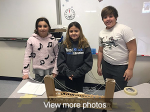 View more photos of our STEM Skills bridge projects