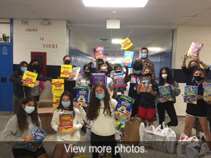 View more photos of the cereal drive