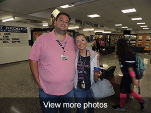 view more photos of the breast cancer awareness participants