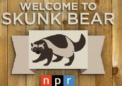 Website for Skunk Bear NPR