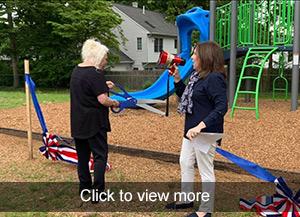 More photos of playground dedication
