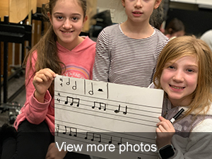 view more photos of our students version on Hot Cross Buns