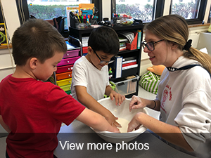 click to view more photos of the students making Oobleck