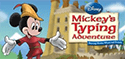 Website for Mickey's Typing Adventure