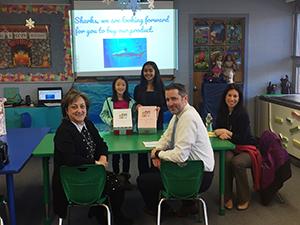 Students present their ideas to Paramus administrators