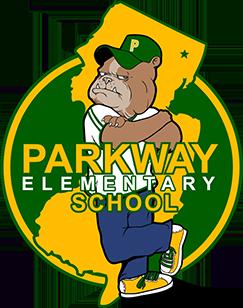 Parkway Elementary School bulldog logo
