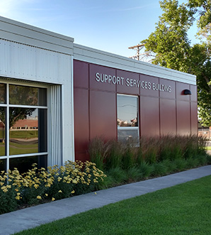 Support Services Building