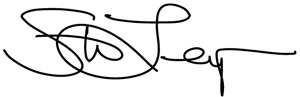 Signature of Steven Lensegrav