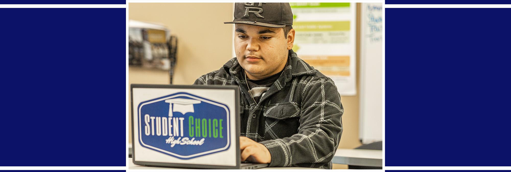 Student Choice wall display