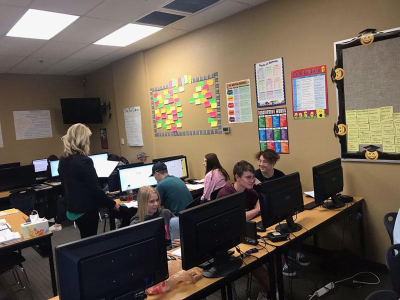 SCHS Peoria Classroom