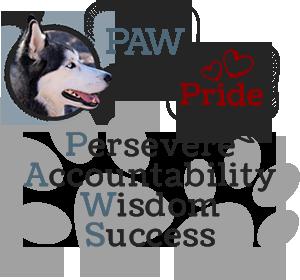Paw Pride - Persevere, Accountability, Wisdom, Success