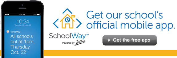 Download our SchoolWay App