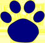 Paw print logo