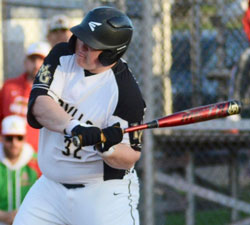 Madison-Grant sophomore Maddox Beckley takes a cut