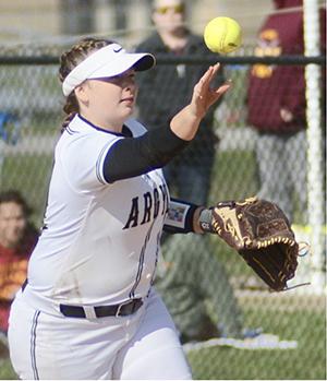 Madison-Grant second baseman Sarah Duncan