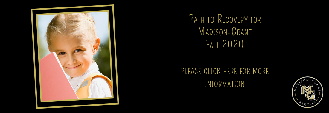 Madison-Grant USC Path to Recovery- ReEntry Fall 2020  please click here for more information