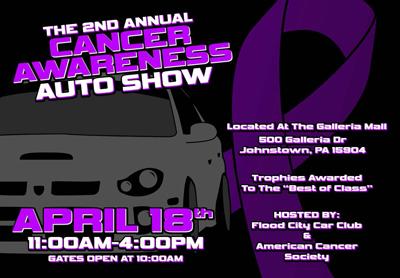 Cancer Awareness Auto Show Flyer