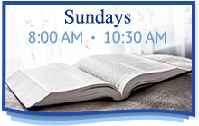 Sundays 8:00 am - 10:30 am