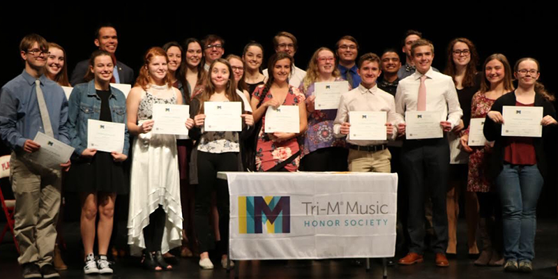 23 PHS Students Accepted into Tri-M Music Honor Society at PHS