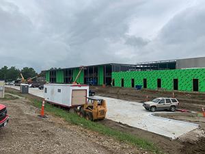 Springfield Elementary School under construction
