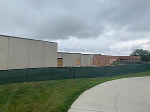 Westmont Elementary School sidewalk and building