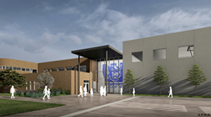 Renderings of what Westmont Elementary School will look like after completion in 2022