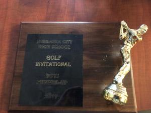 2019 Boys Invitational runner-up plaque
