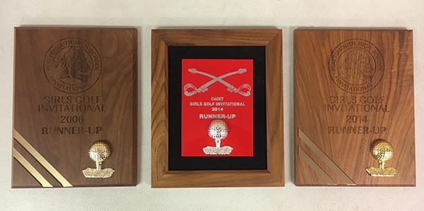 Girl's Golf Awards - 2006 and 2014