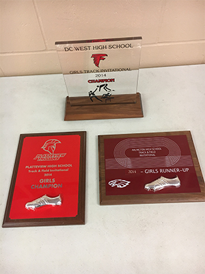 Track and Field award 2014