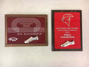 Track and Field award 2016