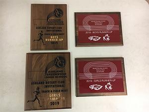 Track and Field Ashland Rotary Club invitational award 2019