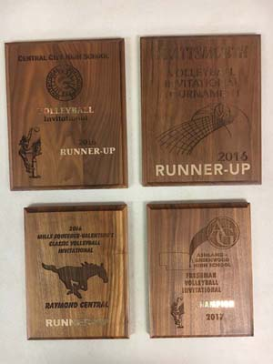 4 Volleyball Awards