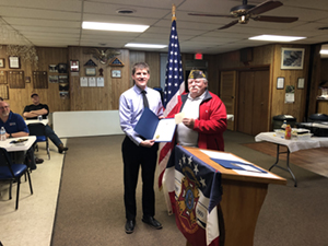 Platteview Central's 8th grade Social Studies teacher, Mr. Andrew Soneson, has been named the Springfield VFW Post 143 Teacher of the Year for grades 6-8!