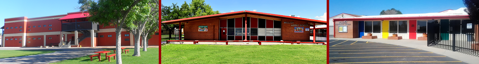Willcox High School, Willcox Middle School, Willcox Elementary