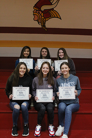 Academic All-State honor recipients