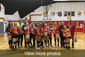 View more photos of Volleyball Senior Night