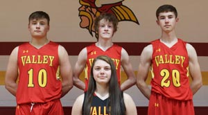 Tyler Courtway, Keegan Boyer, Colby Maxwell, and Kenley Missey