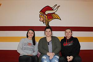 Emma Beers, Becca Williams, and Liz Morris